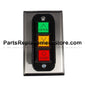 Flush Mount 3 Push Button PBC-3 Station