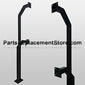 "42"" & 72"" GOOSENECK PEDESTAL, DUAL HEIGHT, PAD MOUNT"