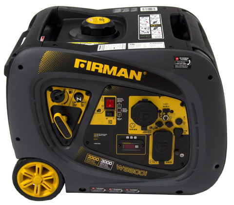 Firman Power Equipment W03081 3000/3300 Watt portable Gas Inverter
