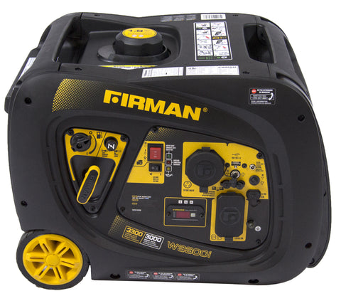 Firman Power Equipment W03082 3000/3300 Watt portable Gas Inverter with Electric Start