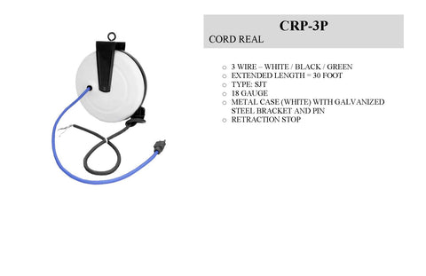 CRP-3P Cord Reel - 3 Wire