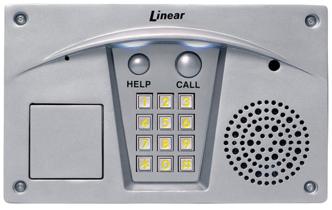Linear RE-2 Residential Telephone Entry, Stainless Steel Finish