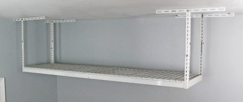 "SafeRacks 2'x8' Overhead Storage Rack 12"" to 21"" drop"