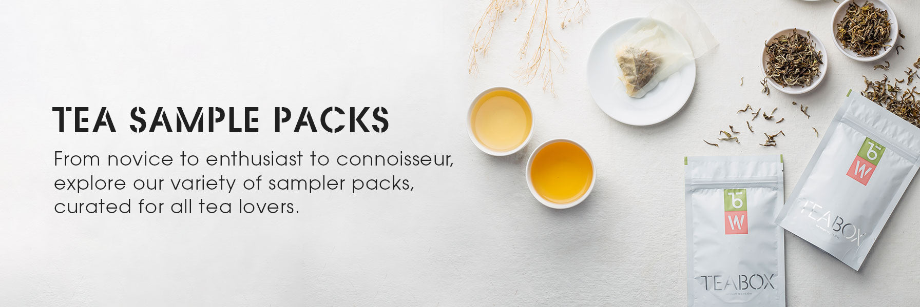 Tea Sample Packs