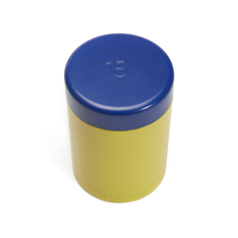Round Tin (Yellow)