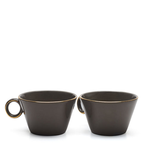 Lyon Tea Cup (Grey)