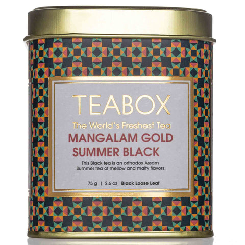 Mangalam Gold Summer Black Tea Tin