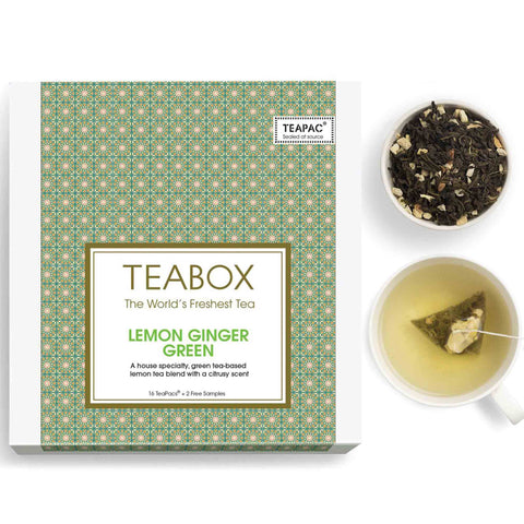 Lemon Ginger Green Tea