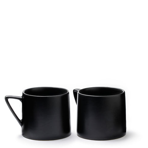 Iconic Tea Cup Black (Set of 2)
