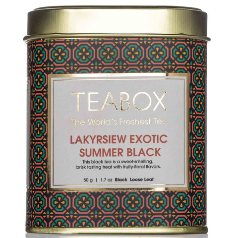 Lakyrsiew Exotic Summer Black Tea Tin