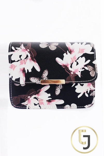 Julia Jolie Signature Clutch - Black Orchid