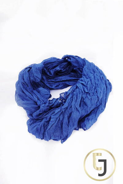 Casual EVERYTHING Scarf in Ocean Blue