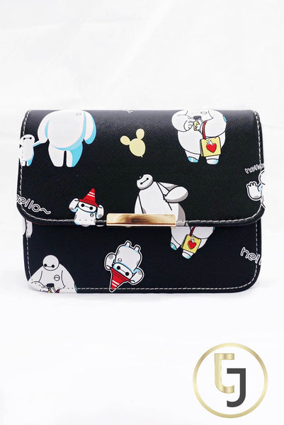 Julia Jolie Signature Clutch - Snowman