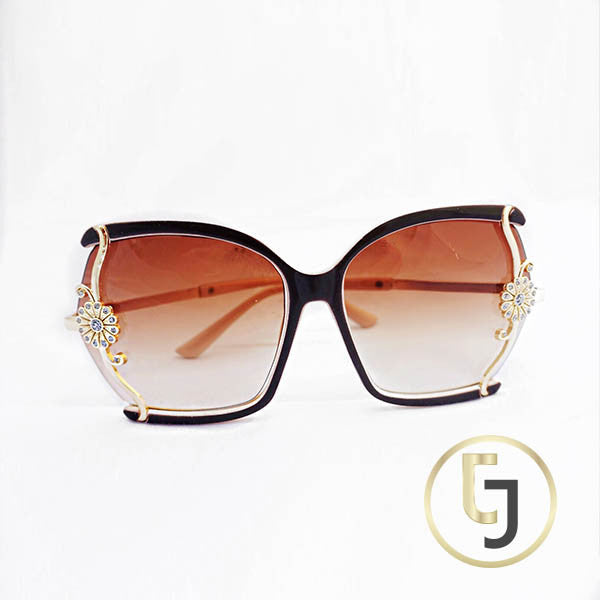"""I'm from Beverly Hills"" Golden Sun Sunglasses"