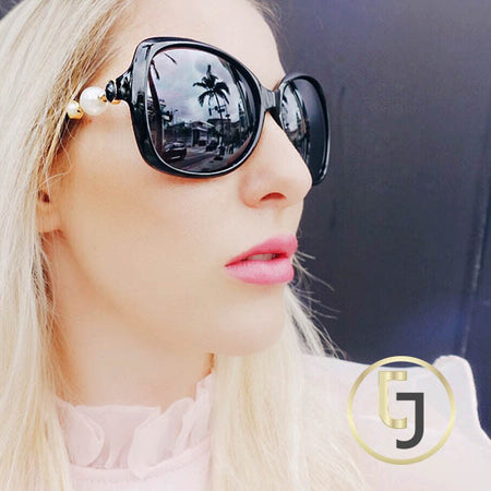 "Julia Jolie Beverly Hills Sunglasses- Exclusive Edition- ""Summer Babe"" in Black"