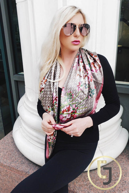 Casual EVERYTHING Scarf in Hot Pink