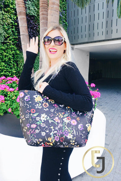 "The ultimate ""Glamorous Mommy"" Tote Bag - Black"
