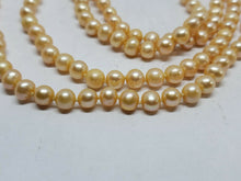 "Honora Pearls 62"" Opera Length 5.0mm-5.5mm Peach Freshwater Pearl Strand..."