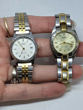 Casio Women's LQ-576 And Men's LTP-1143 Stainless Steel Watches