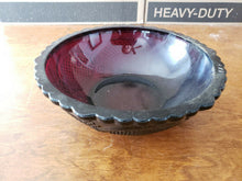 Vintage 1876 Avon Cape Cod Collection Ruby Red Vegetable Bowl
