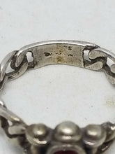 Vintage Sterling Silver Cable Chain Ring