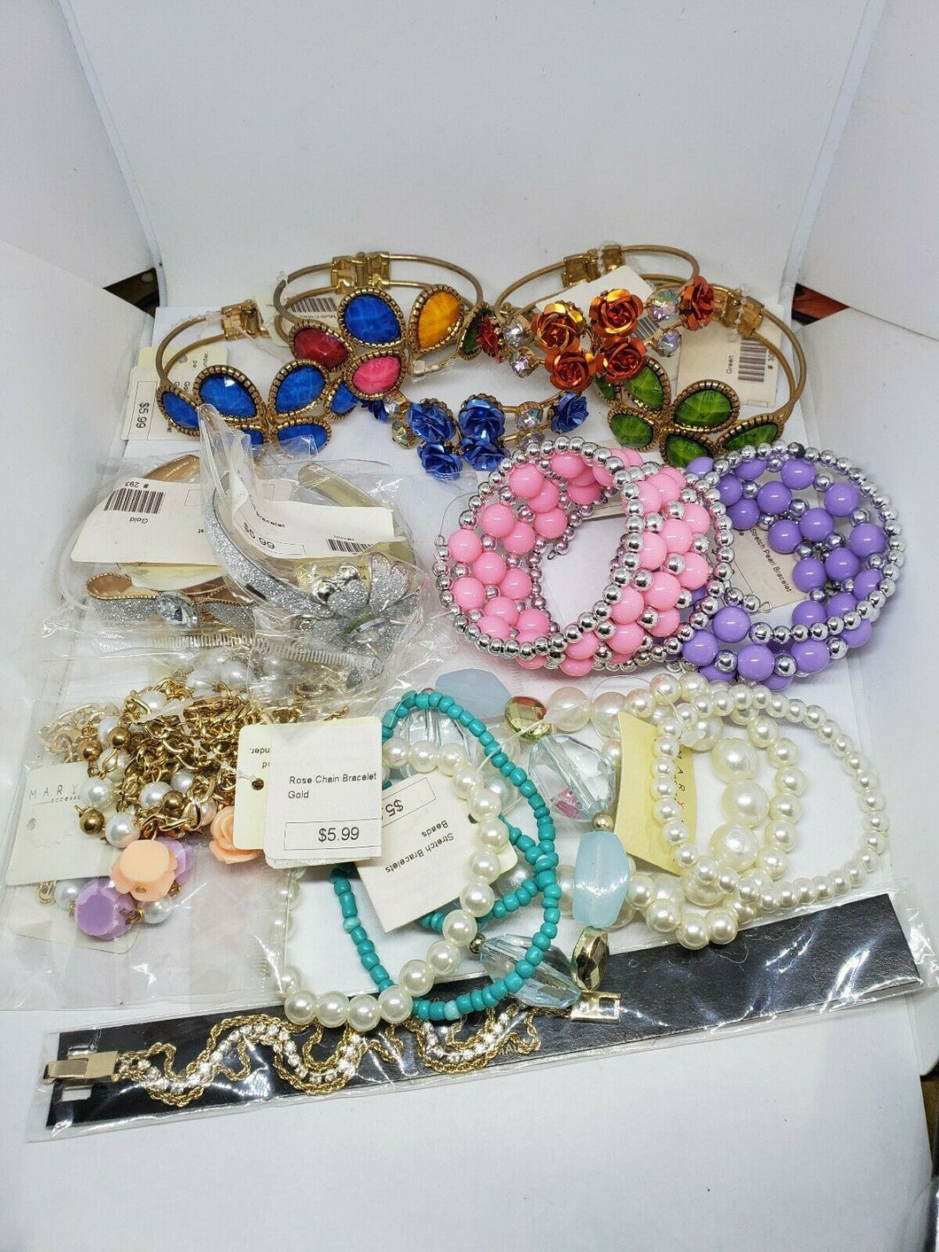 Lot Of Marisol Fashion Jewelry New In Package/With Tags $100 Retail