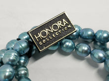 Honora Big Baroque Potato Pearl 3 Stretch Bracelet Set 8mm x 9mm