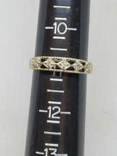 Vintage Avon Sterling Silver Cubic Zirconia Band Ring