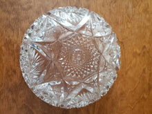 Antique Imperial Glass Company Cut Glass Starburst Candy Dish/Bowl 6.5""