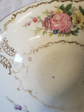 Vintage Heinrich & Co Selb Bavaria Double Handle Bowl 24k Gold Trim