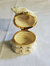 Lenox Ivory China Dolphin Trinket/Ring Box