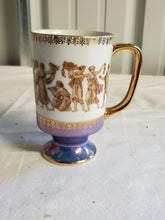 Vintage Royal Crown Greek Classic 55/1532 Lustreware Footed Cup/Mug
