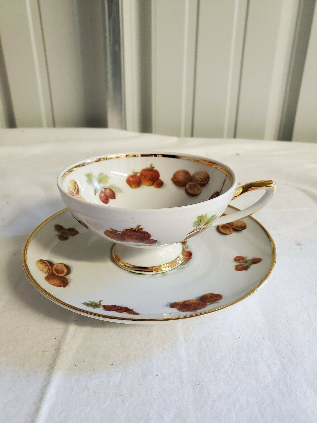 Vintage HMS Royal Hanover Germany Fruit And Nut Cup And Saucer