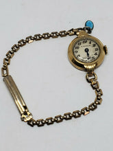 Vintage Easton Square Link Bracelet Watch With Pontiac 1/40 10K RGP Band