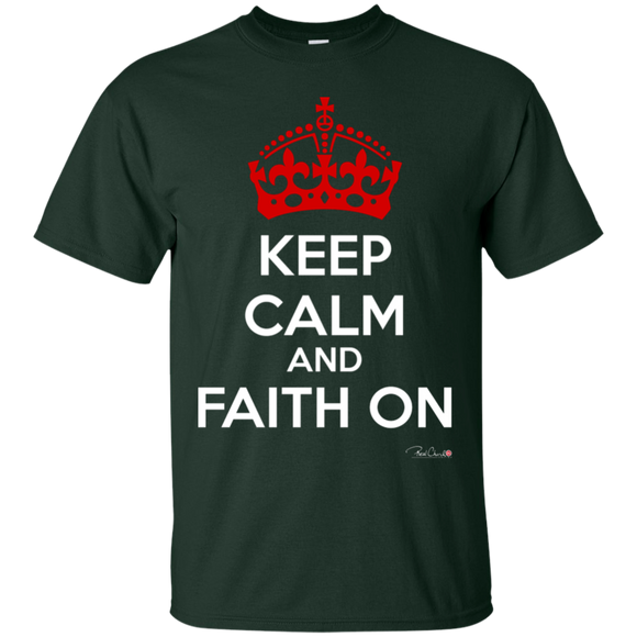 Faith On - Men T-Shirt - Cotton - Dark