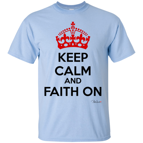 Faith On - Men T-Shirt - Cotton - Light