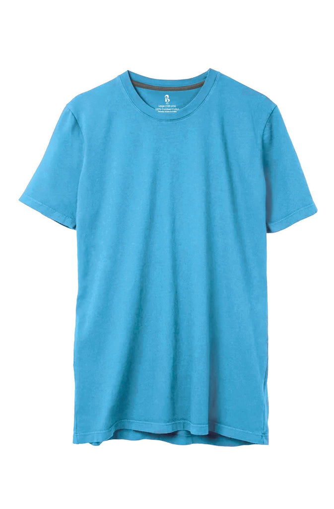 Cloud Puff Blue Crew Neck Tee (MRP inclusive of all taxes) Crew Neck P3