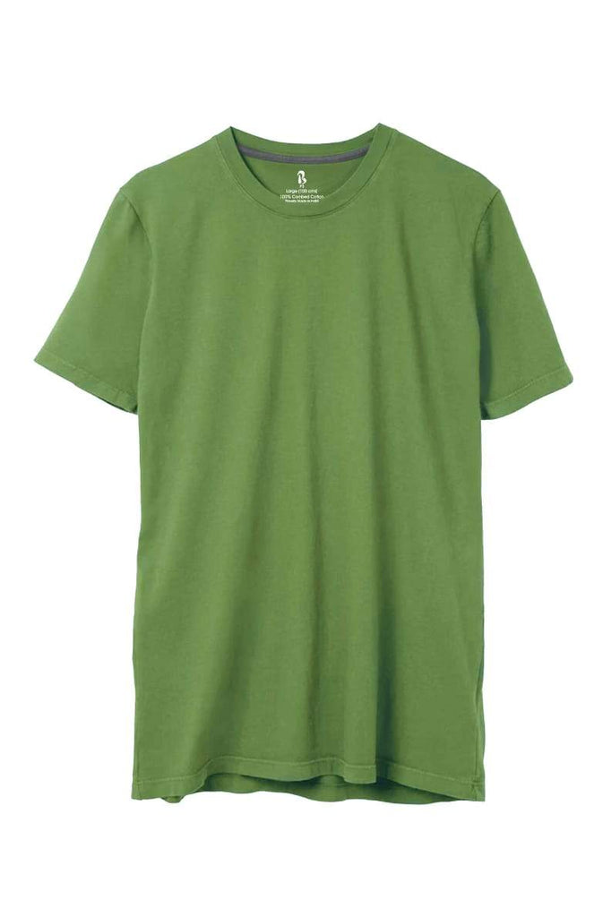Green-Wood Crew Neck Tee (MRP inclusive of all taxes) Crew Neck P3 Small / 90 cms / Ideal for Shirt 38""