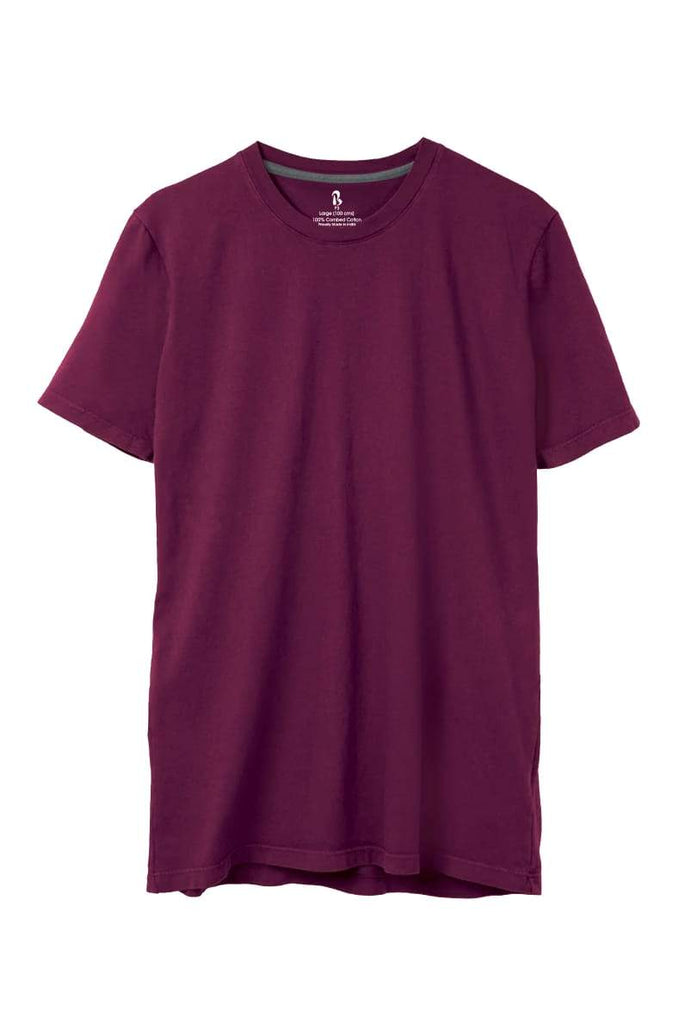 Light Wine Crew Neck Tee (MRP inclusive of all taxes) Crew Neck P3 Small / 90 cms / Ideal for Shirt 38""