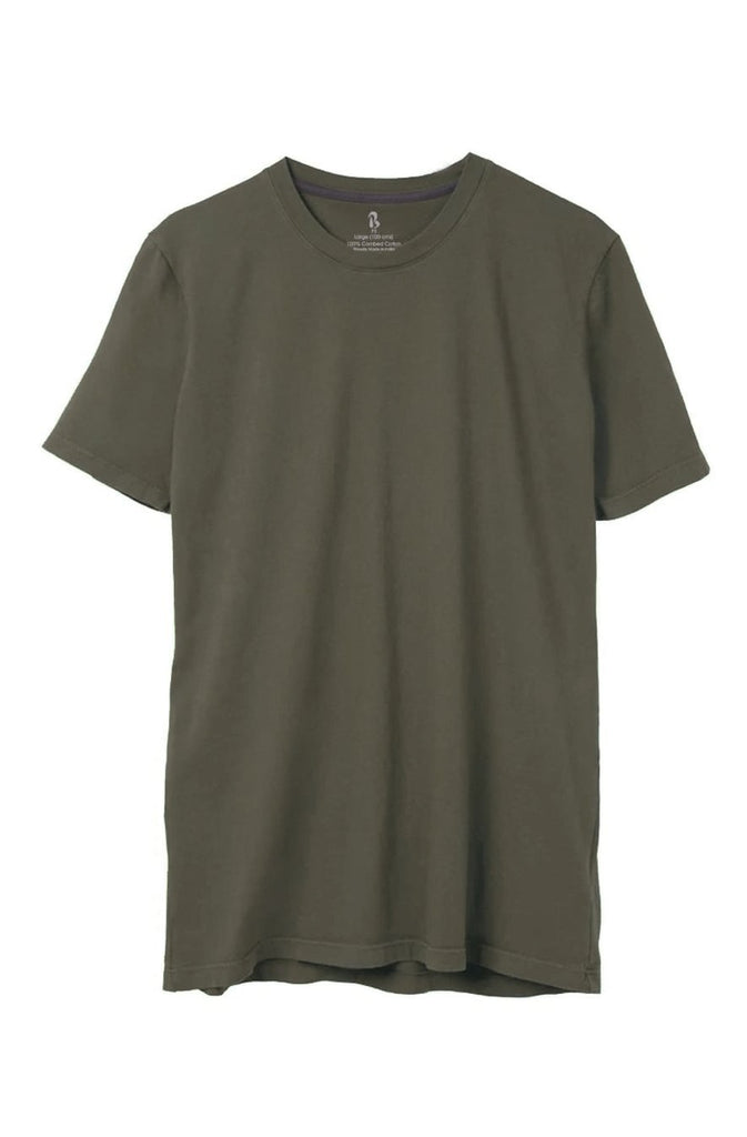 Moss Green Crew Neck Tee (MRP inclusive of all taxes) Crew Neck P3