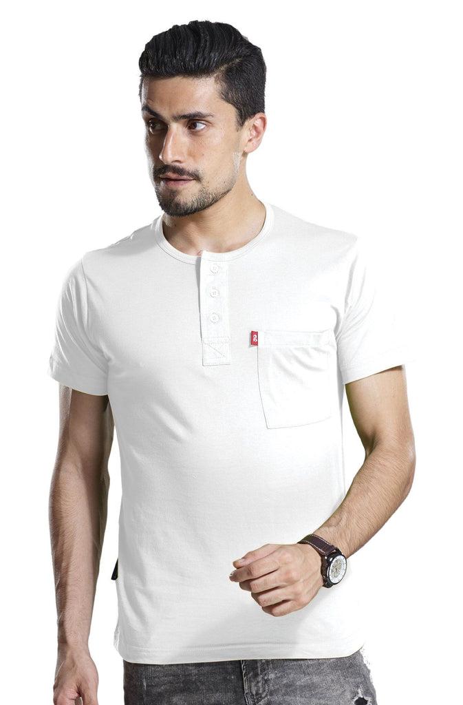 Pure White Henley Henleys P3 85 cms