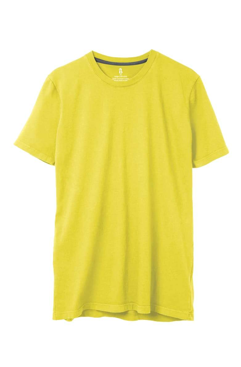 Taxi Yellow Crew Neck Tee (MRP inclusive of all taxes) Crew Neck P3 Small / 90 cms / Ideal for Shirt 38""