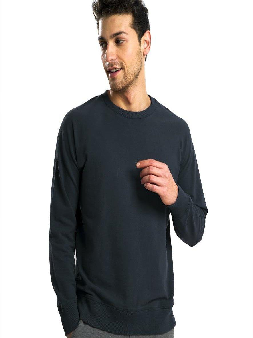 Thermabrium Estate Navy French Terry Sweatshirt (MRP inclusive of all taxes) Sweatshirt P3