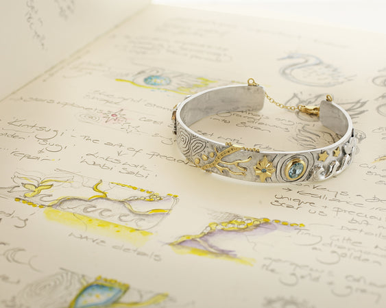 Bespoke Tales: A precious and philosophical bangle.