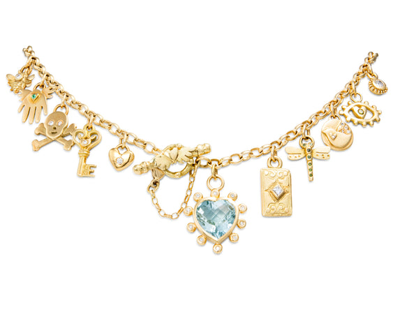 Bespoke Tales: Inspired by Sophie's very own charm necklace.