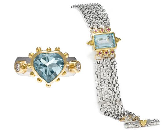 Bespoke Tales: Aquamarine & Diamonds - A lady's deserved gift to herself