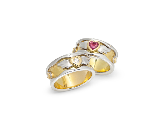 Bespoke Tales: Re-Invented Wedding Rings - A Symbol Of Their Love