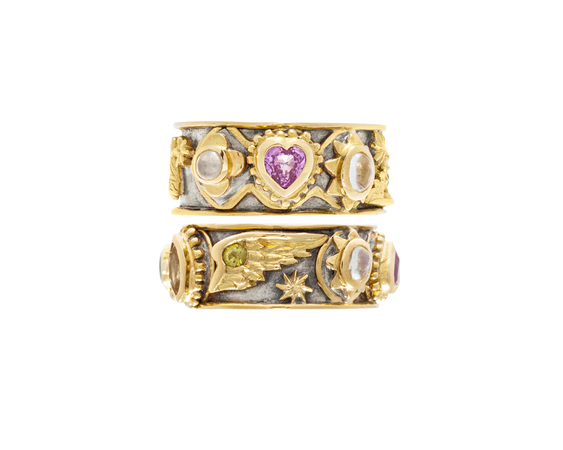 Bespoke Tales: A Symbolic Venetian Inspired Anniversary Ring