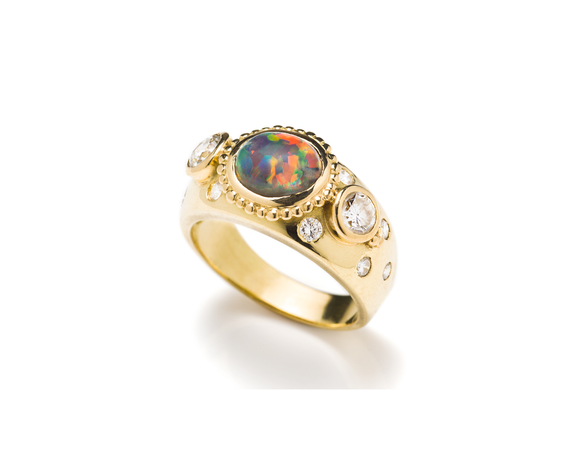 Bespoke Tales: Rare, Beautiful & Historic Opal - A Family Heirloom