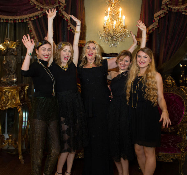 Sophie Harley and her team celebrating their 25th Anniversary, 2016